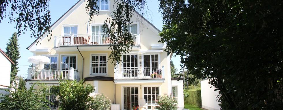 Hochwertige, ruhige Garten-Maisonette-Wohnung