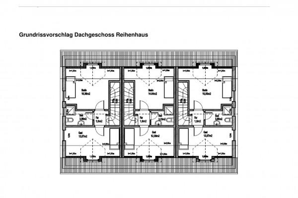 Grundrissvorschlag Dachgeschoss