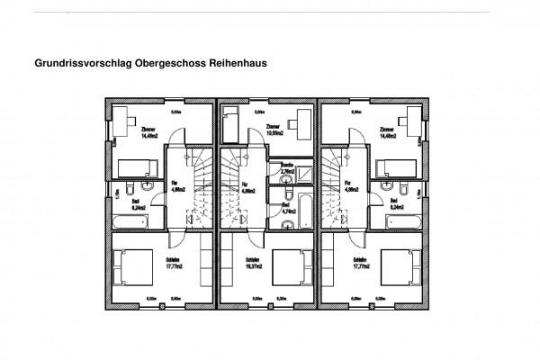 Grundrissvorschlag Obergeschoss