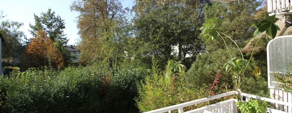 Traumhaft und sehr zentral gelegene 3-Zimmerwohnung  umgeben von Grünanlagen in der Parksiedlung Ramersdorf