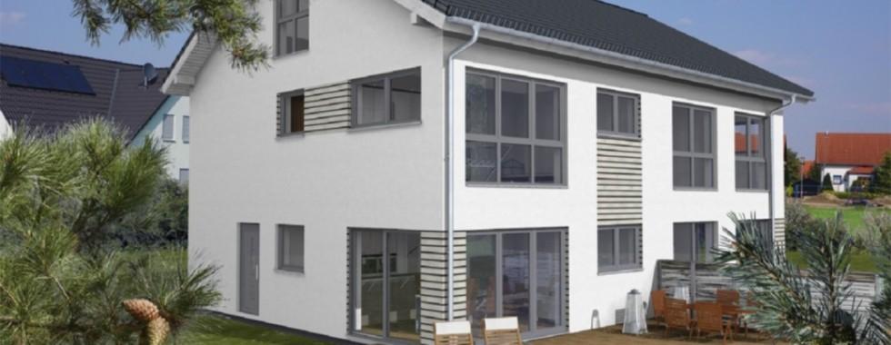Neubau Doppelhaushälfte in Ottobrunner Bestlage